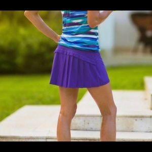 Athleta Purple Runaround Skort Size XXS